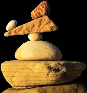 balans, gestapelde stenen